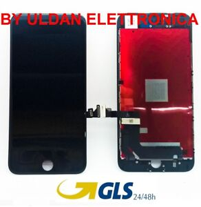 TOUCH-SCREEN-LCD-DISPLAY-RETINA-FRAME-PER-APPLE-IPHONE-7-PLUS-VETRO-SCHERMO-NERO