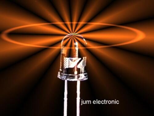 5mm  rund Orange // Led 20 Stück Leuchtdioden