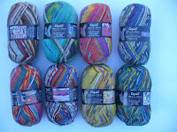 8x100 gr. Sockenwolle/Strumpfwolle Opal Hundertwasser 1