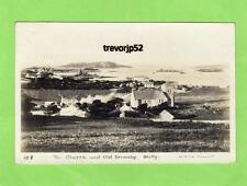 The Church & Old Grimsby Scilly Isles RP pc used 1922 Gibson Ref A882