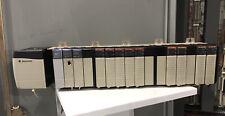Allen Bradley 1756 Controllogix 17 Slot Rack System Comms Input Analog