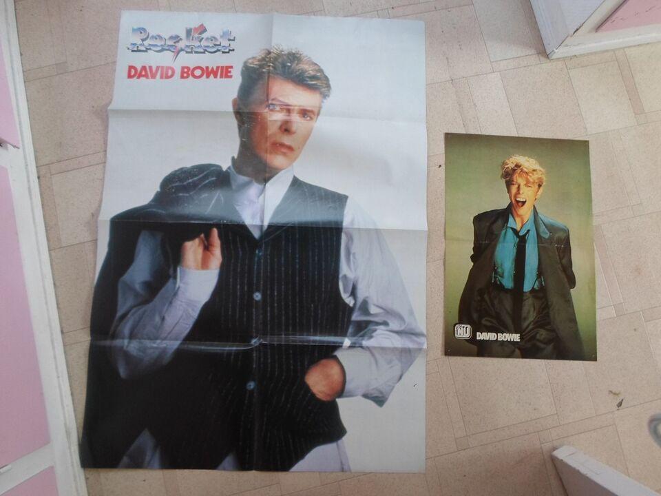 Plakater, David Bowie 2 stk idol