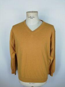 PIERRE-CARDIN-MAGLIONE-IN-LANA-Maglioncino-Cardigan-Sweater-Tg-L-Uomo