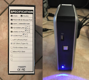 Mini-Micro-PC-Computer-Firewall-eBox-VIA-Eden-C7-512MB-Dual-Ethernet-CF-Card