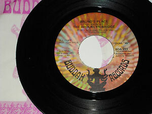 BROOKLYN-BRIDGE-Bruno-039-s-Place-1972-DJ-Promo-BUDDAH-45-w-Buddah-Stock-Sleeve