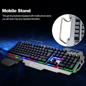 USB-1-8M-Wired-Rainbow-Keyboard-Backlight-Gaming-LED-Light-For-PC-Home-amp-Office