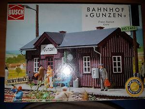 Stazione-di-Gunzen-Scala-HO-Busch-HO-1462-Nuovo