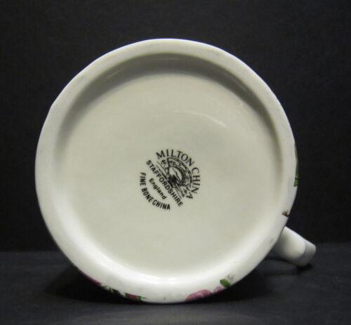 1 Romance Bleu Petit Anglais Porcelaine Fine Tasse Par Milton Chine