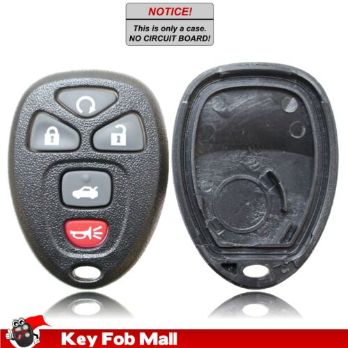 New Key Fob Remote Shell Case For a 2006 Cadillac DTS w// Remote Start