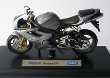 Welly 12176 12817 12822 TRIUMPH DAYTONA 955I 675 street triple modèle Bikes 1:18