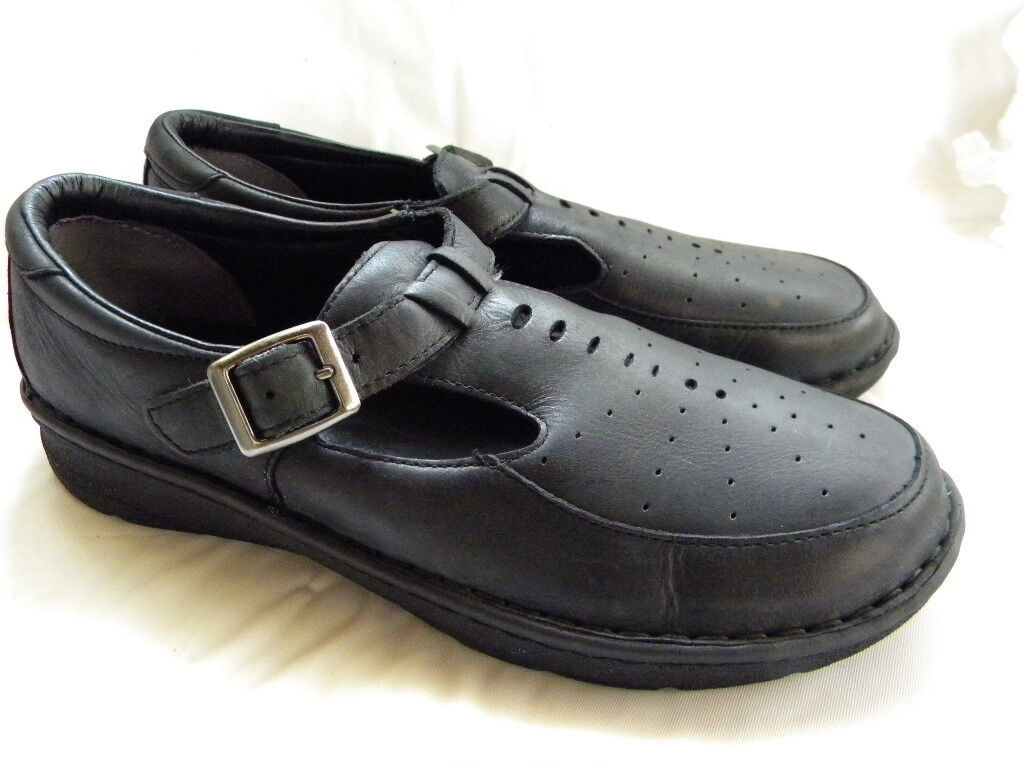 DREW Amelia Dark Gray Mary Jane Orthopedic Diabetic Schuhes Sandales Größe 8.5 W