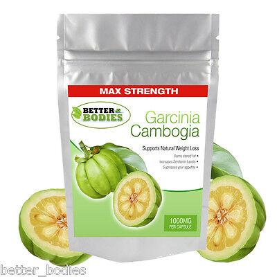 Garcinia Cambogia 1000mg Per capsule Strongest in UK Weight Loss Diet Pills