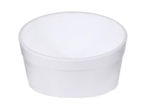 Suppenbecher Thermobehälter 340 ml weiß EPS Styropor Thermobecher 135112 var