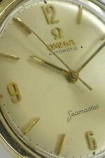 OMEGA Seamaster Herren Armbanduhr in 14ct Gelbgold a.d.1960er Jahren Klassiker !