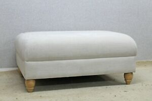 673-Willow-amp-Hall-ivory-material-Footstool