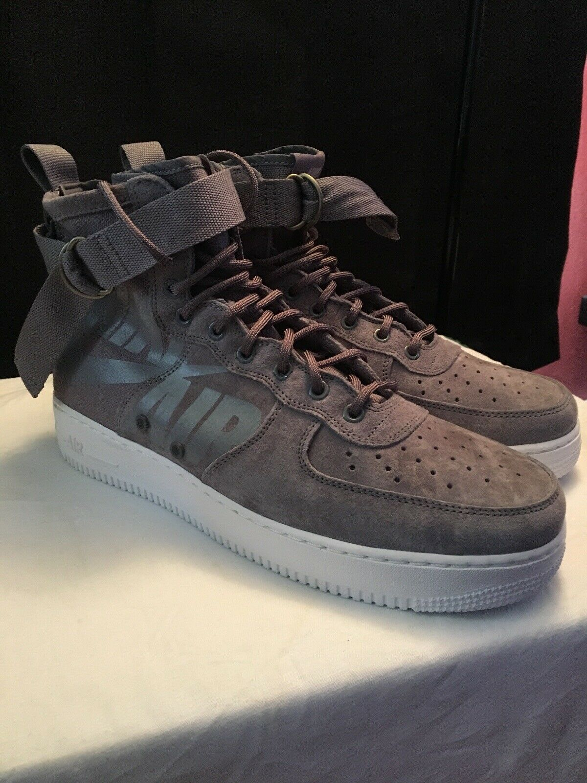 Nike SF-AF1 Mid Men's Casual shoes Gunsmoke Wolf Grey 917753 007 size 11