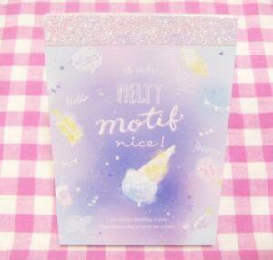 CRUX-Melty-Motif-Ice-Cream-Mini-Memo-Pad-Japan-Stationery