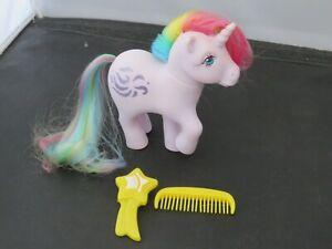 Vintage G1 Hasbro My Little Pony Mlp Windy Rainbow Pony Ebay