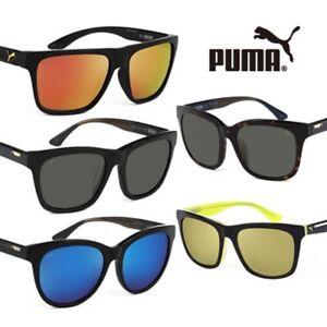 ae82b553e4d0 New PUMA Women's Sunglasses Square Flags GENUINE -100% UV Protection ...