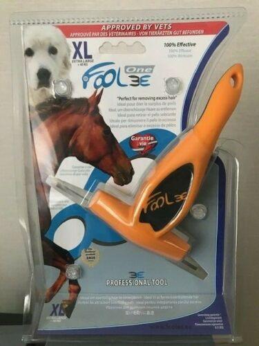 Foolee Grooming Brush XL Ideal for Grooming Horses Orange