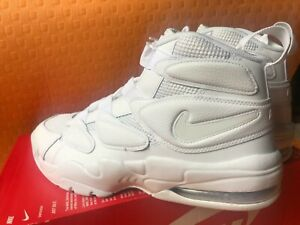 new product 328d7 8524e NEW Brand NIKE AIR MAX 2 UPTEMPO 94 Triple White 922934-100 Pippen ...