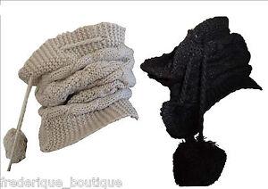 Snood-Tour-de-cou-Col-transformable-3-en-1-Cagoule-mode-scarf-snood-original