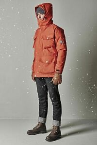 Nigel Cabourn K100 Down Parka In Rescue Orange, Size Large/50   Bnwt, Rrp £900 by Nigel Cabourn K100