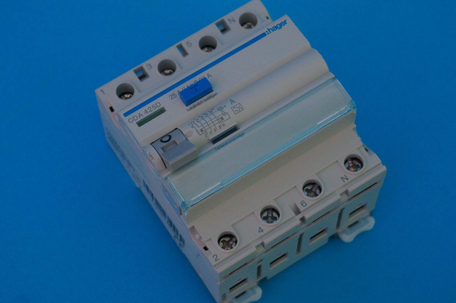 Hager LS-Schalter MBN MCN FI-Schutzschalter CDA CFA CFA CFA Automat 1p/2p/3p/4p -Auswahl 2b7fd7