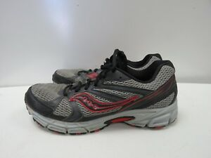 0b4a11f03395 Image is loading Saucony-Mens-Grid-Terrain-Running-Shoes-Sneakers-Sz-