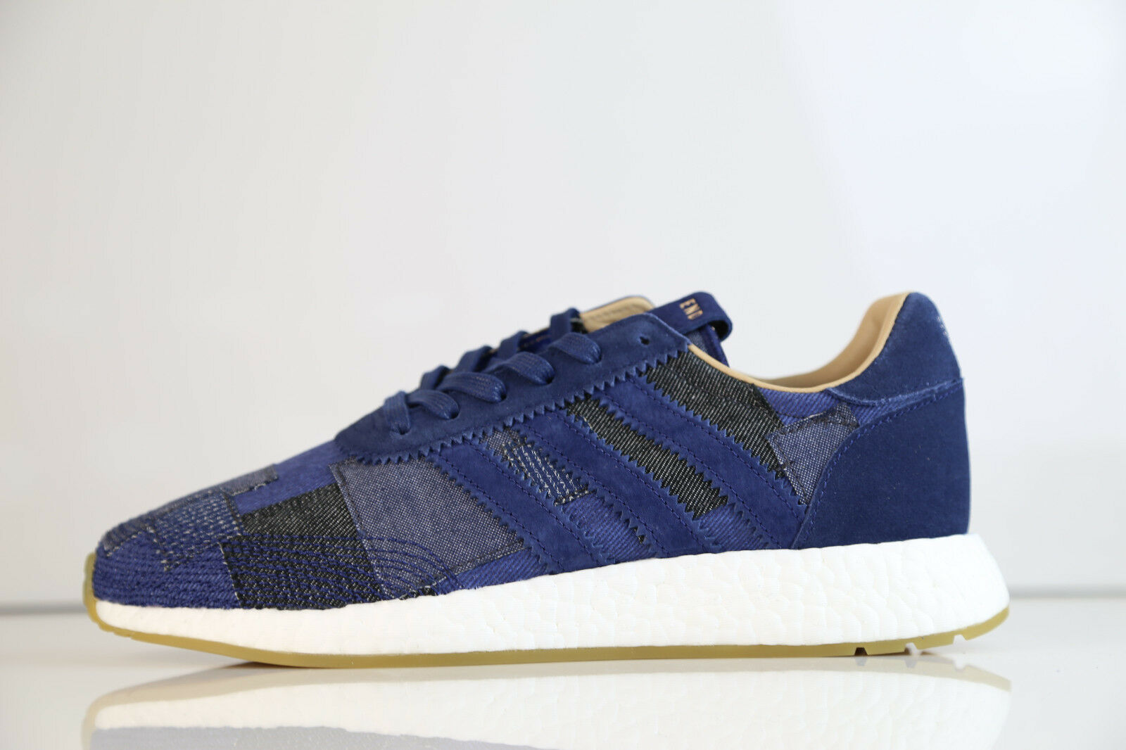 Adidas Consortium Bodega End Iniki Runner SE Patchwork Denim BY2104 5.5-15 boost