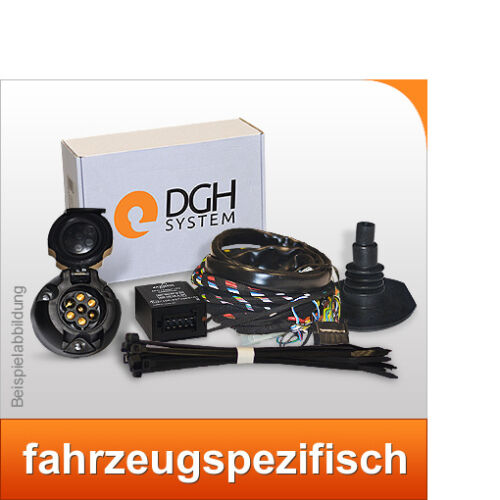 Elektrosatz 7-polig spezifisch E-Satz für Anhängerkupplung Für SCENIC II 2 03-09