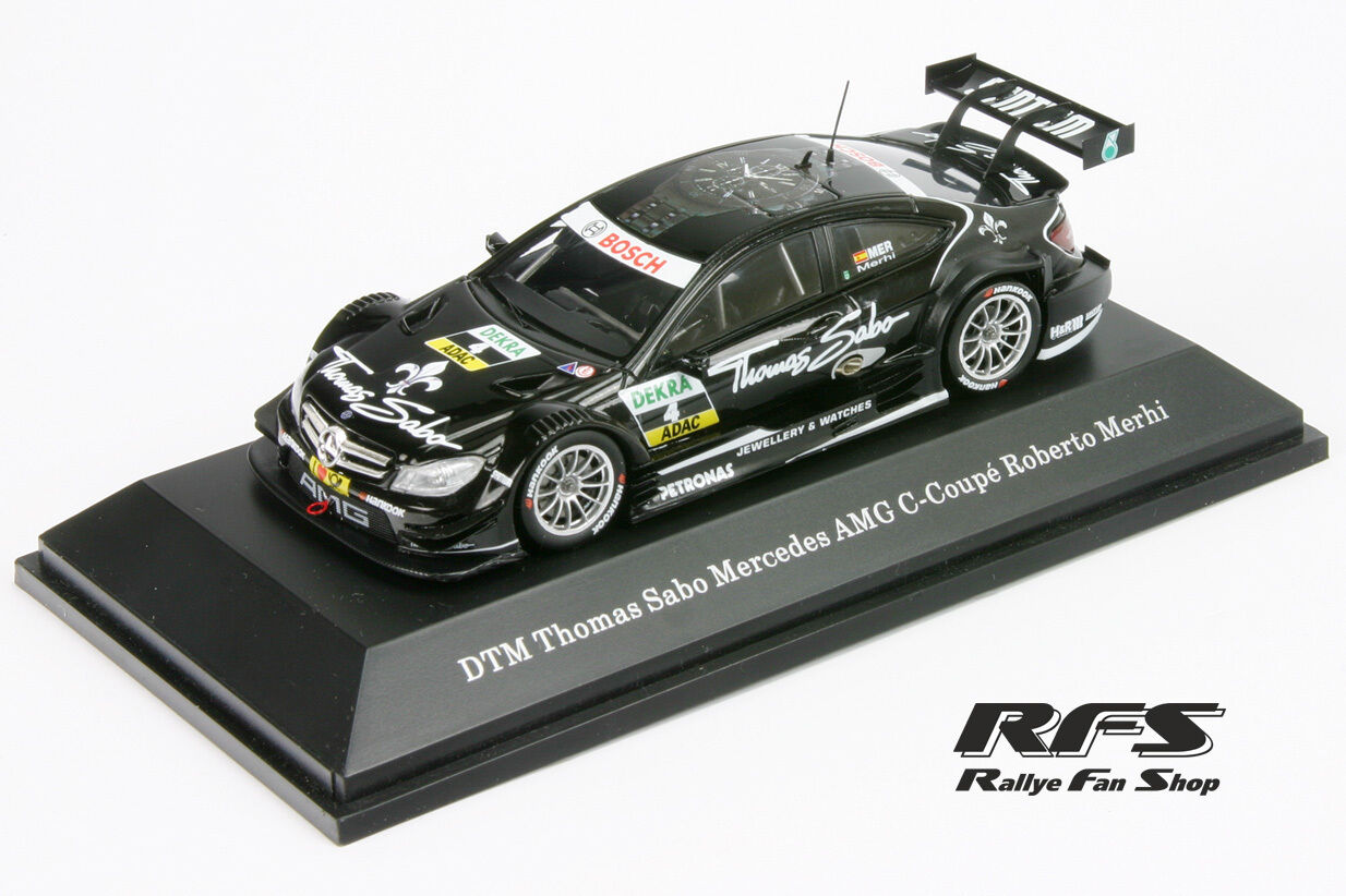 Mercedes AMG AMG AMG C-Coupe DTM - Roberto Merhi - Saison 2013 - 1 43 Spark MB66961215 37a335