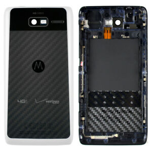watch 37a8c d0b8f Details about Motorola OEM Back Cover Housing Door NFC for DROID RAZR M  XT907 XT905 - WHITE