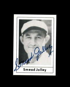 Smead Jolley Hand Signed 1978 Grand Slam Autograph