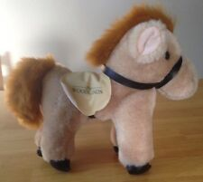 """The Woodlands"" Stuffed Bean Bag Plush Horse With Saddle"