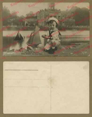 Prinz Wilhelm von Preußen Hohenzollern Adel Marmorpalais Potsdam Spielzeug 1908!