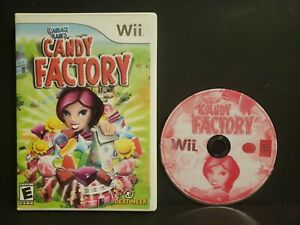 Candace-Kane-039-s-Candy-Factory-Nintendo-Wii-2008-No-Manual