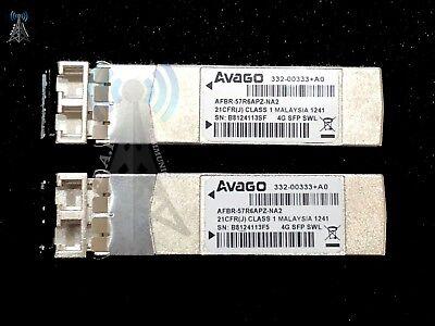AVAGO 332-00333+A0 4GB SWL SFP Optical transceiver AFBR-57R6APZ-NA2