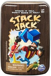 Stack Jack Game By Spin Master SEALED NEW- Free Shipping