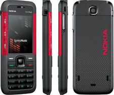 Nokia XpressMusic 5310 Red Unlocked Camera Bluetooth Mobile Phone Bar Phones