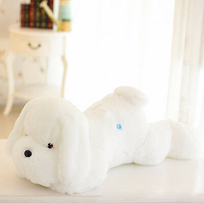 Plush Light Led Dog Glow Stuffed Night Animals Toys Doll Glowing Puppy 50cm