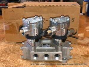 NEW Parker L6854310253 Valvair II Series Valves Schrader FREE SHIPPING