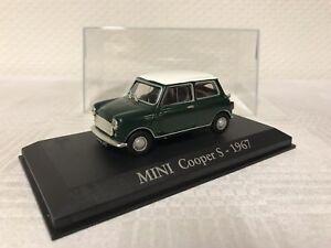 Mini-Cooper-S-1-43-Geschenk-Modellauto-Modelcar-Scale-Model-Sammeln-Raritaet-Top
