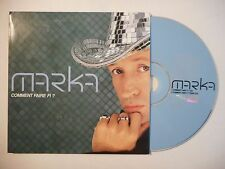 MARKA : COMMENT FAIRE FI ? ♦ CD SINGLE PORT GRATUIT ♦