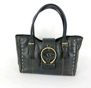 Jane-Shilton-Black-Leather-Medium-Handbag-30cm-X-20cm