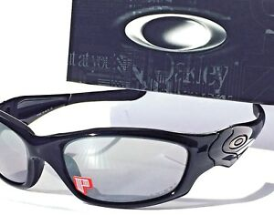 54f6a12e7d2c7 Image is loading NEW-Oakley-STRAIGHT-JACKET-POLARIZED-BLACK-Iridium-Lens-