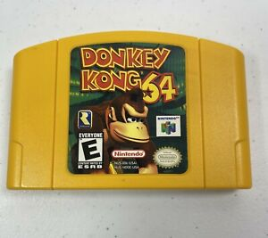 NINTENDO-64-Donkey-Kong-64-N64-Tested-Works-Cartridge-Only-0955