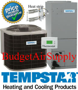 Details about 3 5 ton 14 seer HEAT PUMP TEMPSTAR Complete 410a Split System  +Heat strip