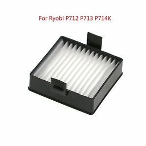 Filtro-de-Reemplazo-Para-Aspiradoras-de-Mano-Ryobi-P712-P713-P714K-Recambios
