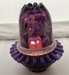 Fenton-Historical-Collection-1998-Royal-Purple-3-Pc-Fairy-Light-HP-LE-1610-N4